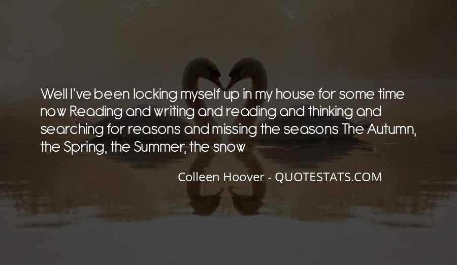 Quotes About Reading Writing And Thinking #103626
