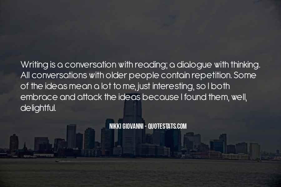 Quotes About Reading Writing And Thinking #1209664