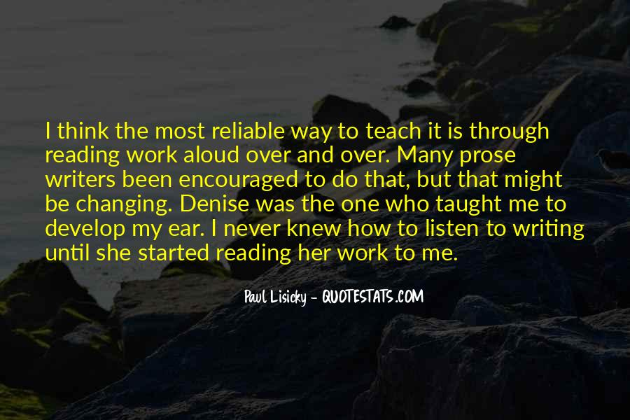 Quotes About Reading Writing And Thinking #1717021