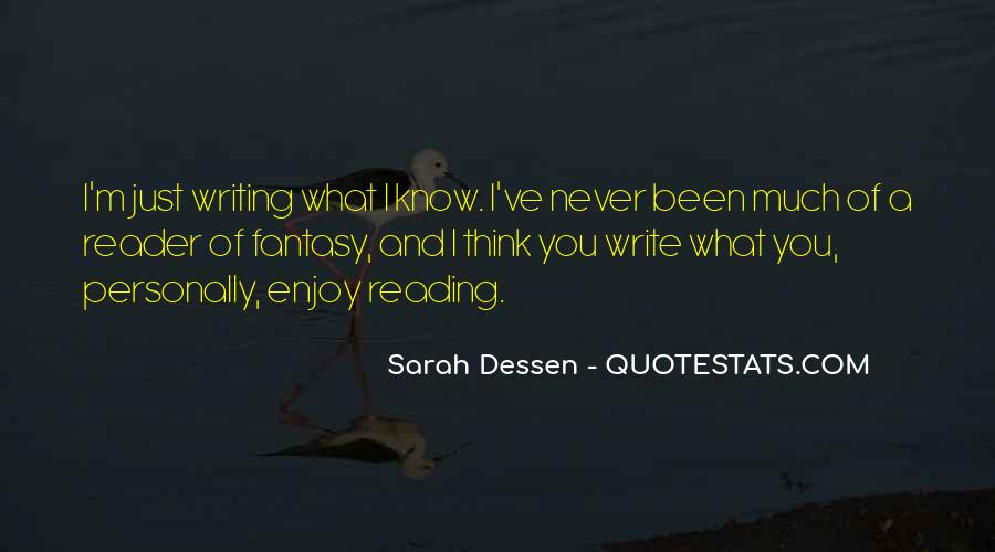 Quotes About Reading Writing And Thinking #1738817