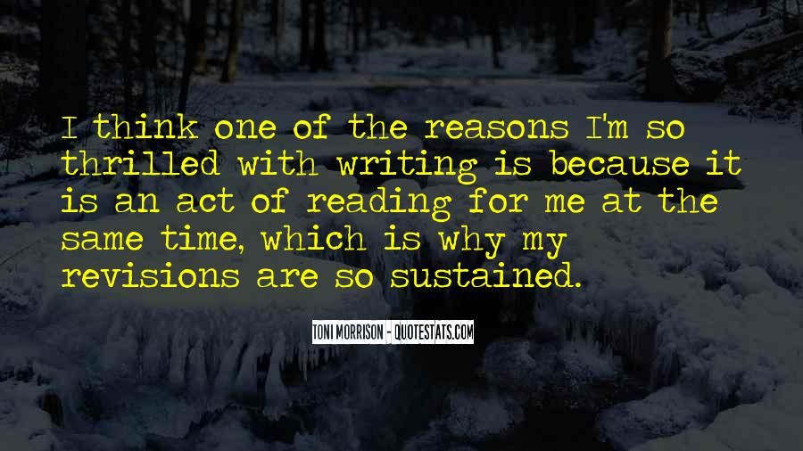 Quotes About Reading Writing And Thinking #33645