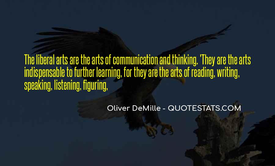 Quotes About Reading Writing And Thinking #379223