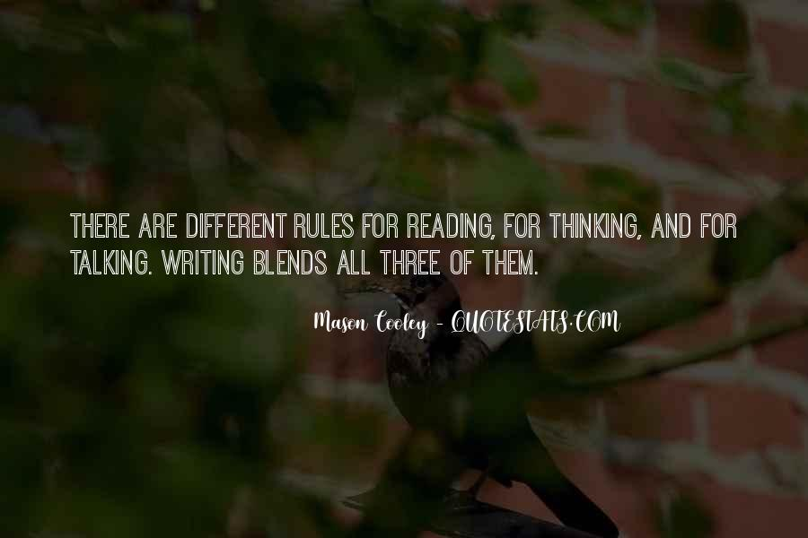 Quotes About Reading Writing And Thinking #487720