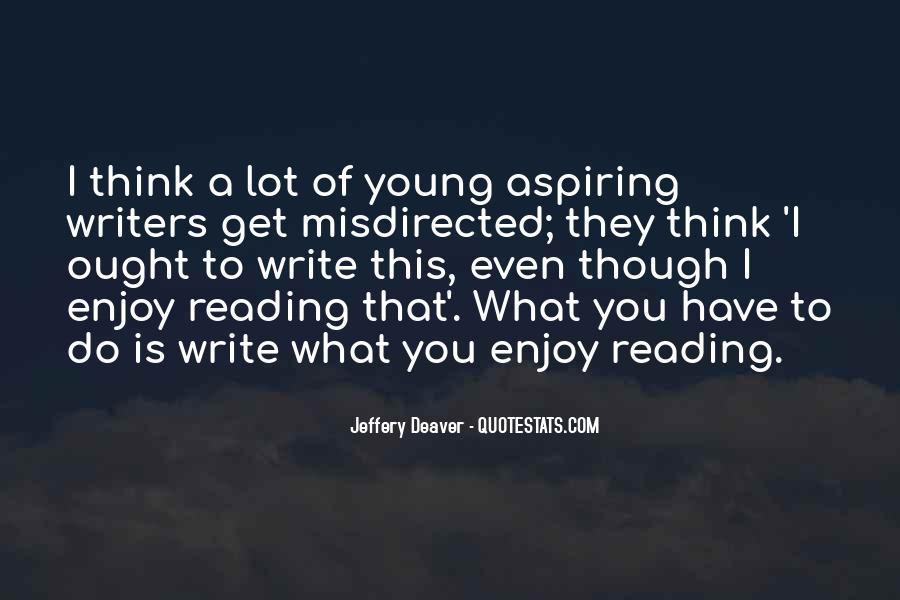 Quotes About Reading Writing And Thinking #679954
