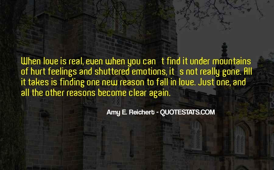 Quotes About Finding The Real Love #1493260