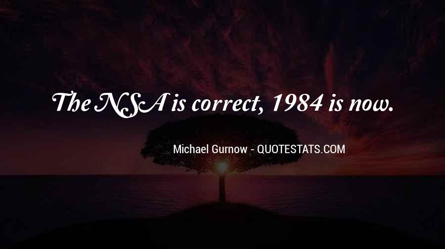 Quotes About 1984 #954056