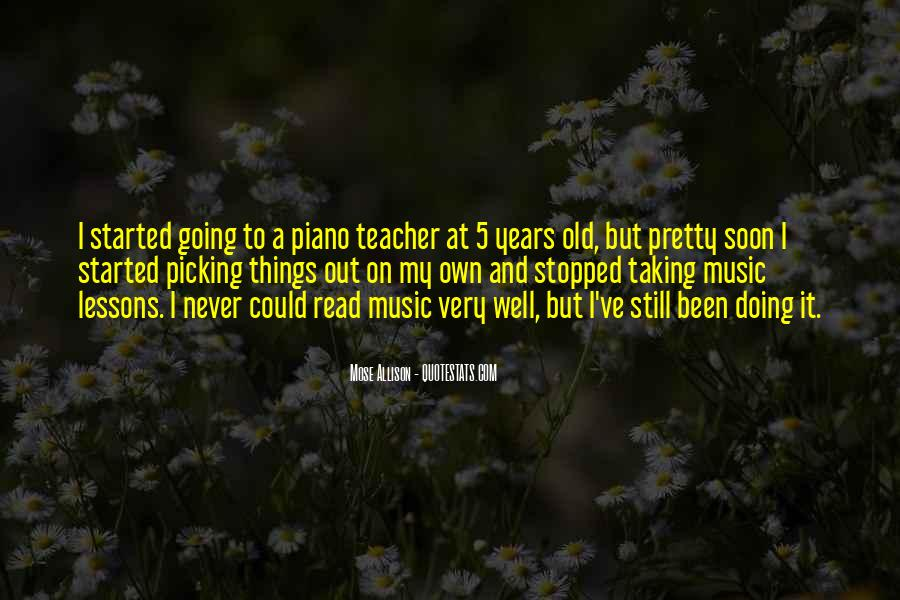 Quotes About Picking #122602