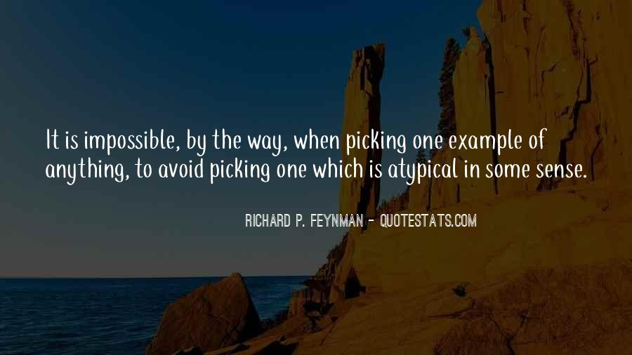 Quotes About Picking #209221