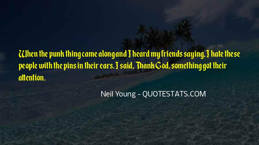 Quotes About Saying Thank You To Friends #734469