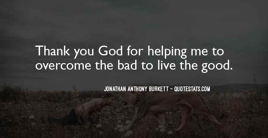 Quotes About Having God In Your Life #3269