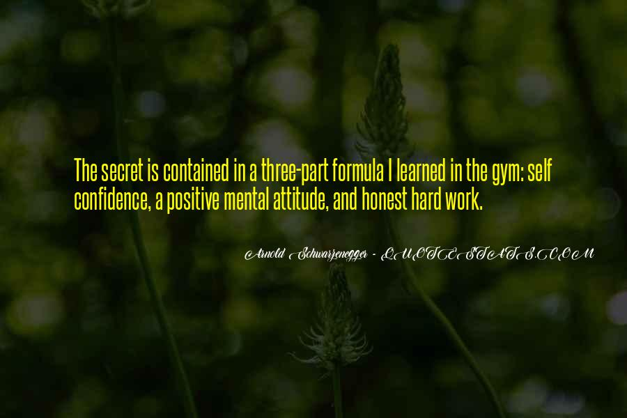 Quotes About A Positive Attitude At Work #501151