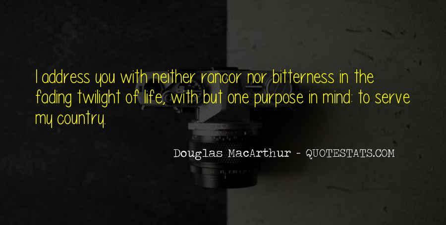 Quotes About One's Purpose In Life #1038280