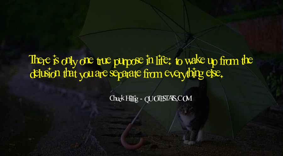 Quotes About One's Purpose In Life #506486