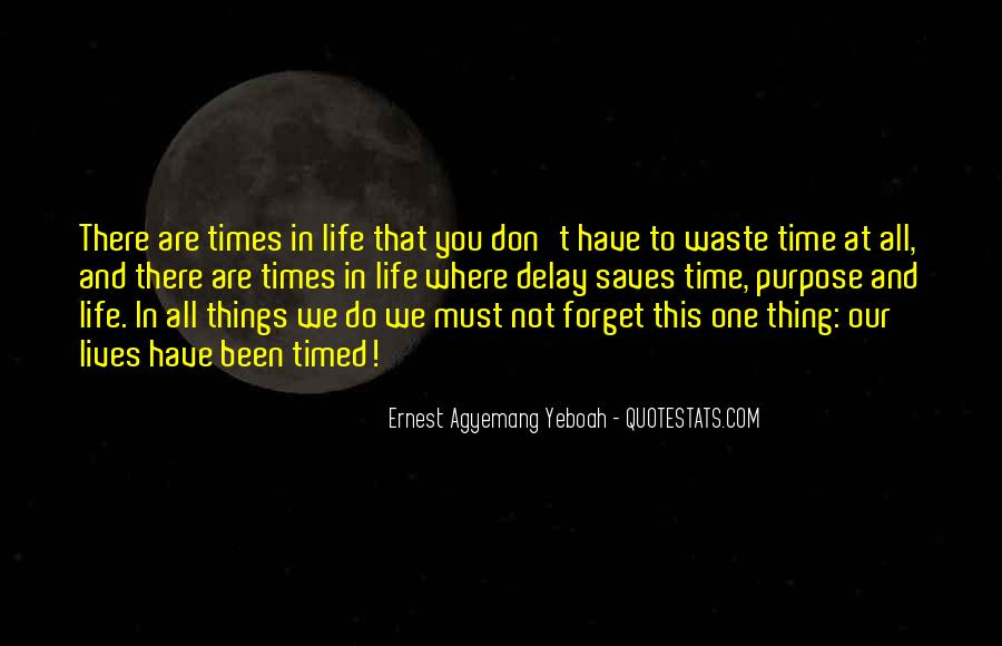 Quotes About One's Purpose In Life #635948