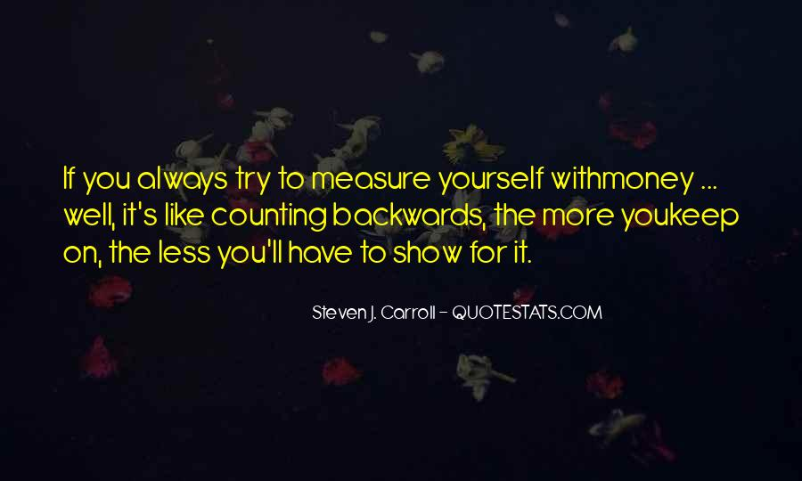 Quotes About Counting On Yourself #812977