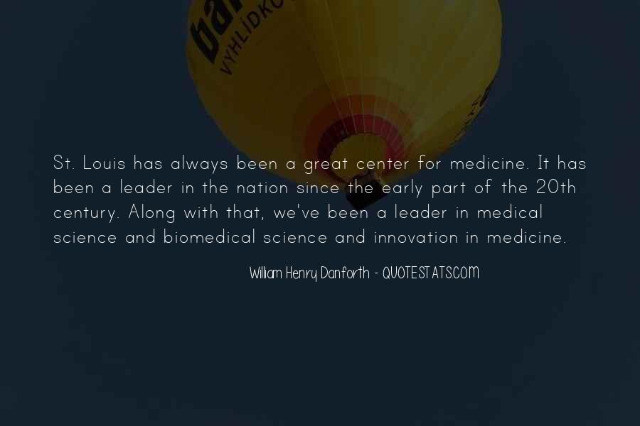Quotes About Innovation In Medicine #419654