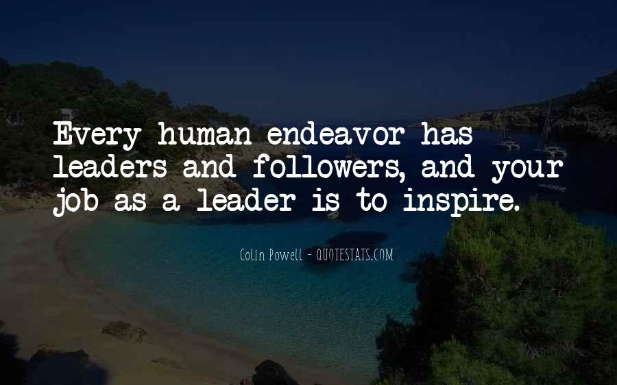 Quotes About Leaders And Followers #1089753