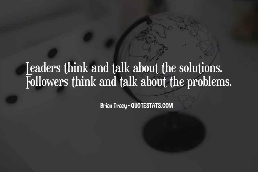 Quotes About Leaders And Followers #1106995