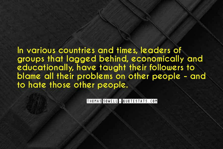 Quotes About Leaders And Followers #1543170