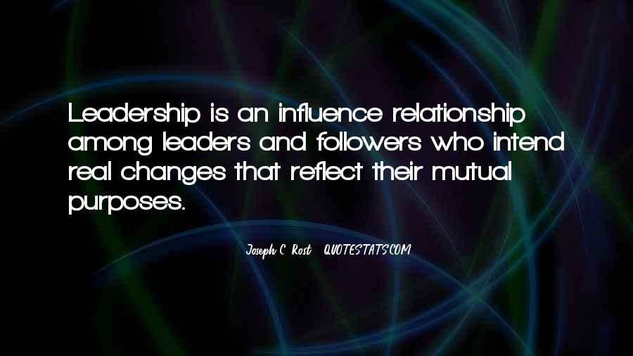 Quotes About Leaders And Followers #185601
