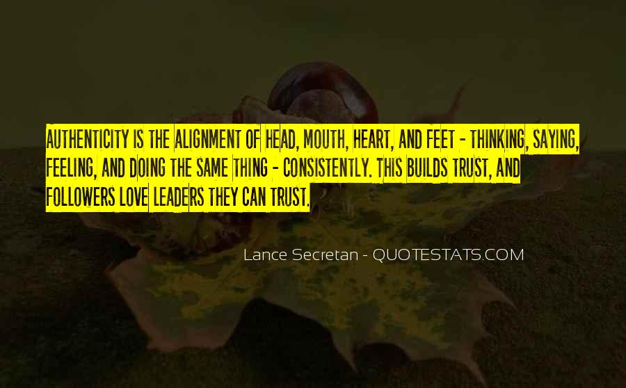 Quotes About Leaders And Followers #3964