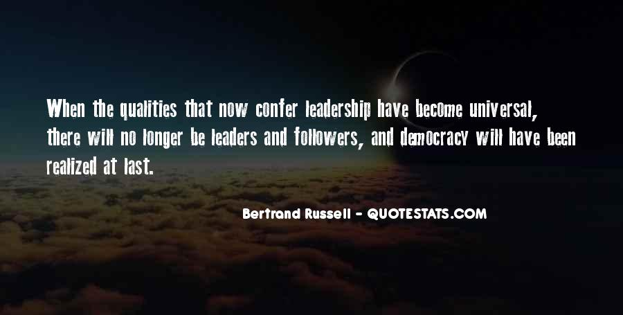 Quotes About Leaders And Followers #743857