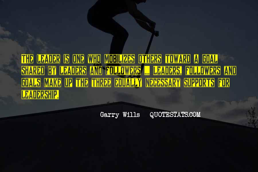 Quotes About Leaders And Followers #80396