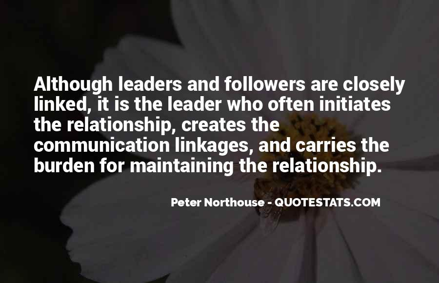 Quotes About Leaders And Followers #808839