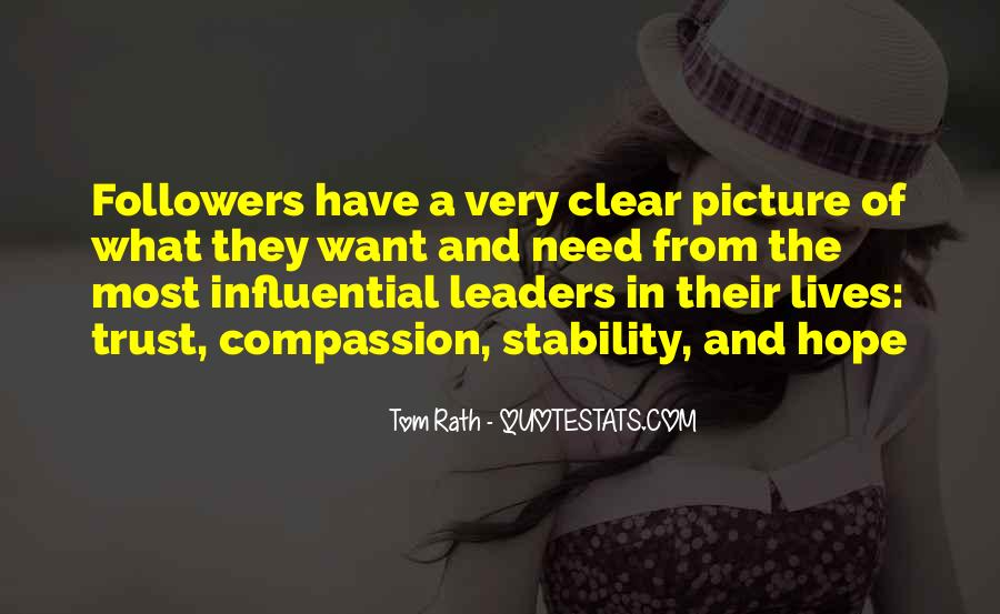 Quotes About Leaders And Followers #960470