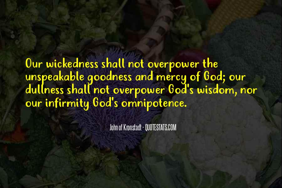 Quotes About God's Omnipotence #1017577