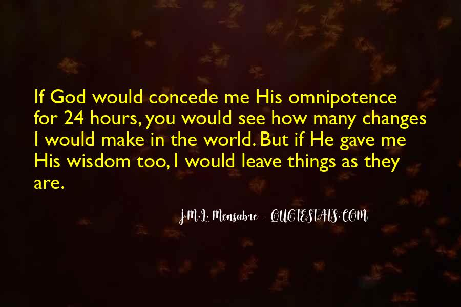 Quotes About God's Omnipotence #1169427