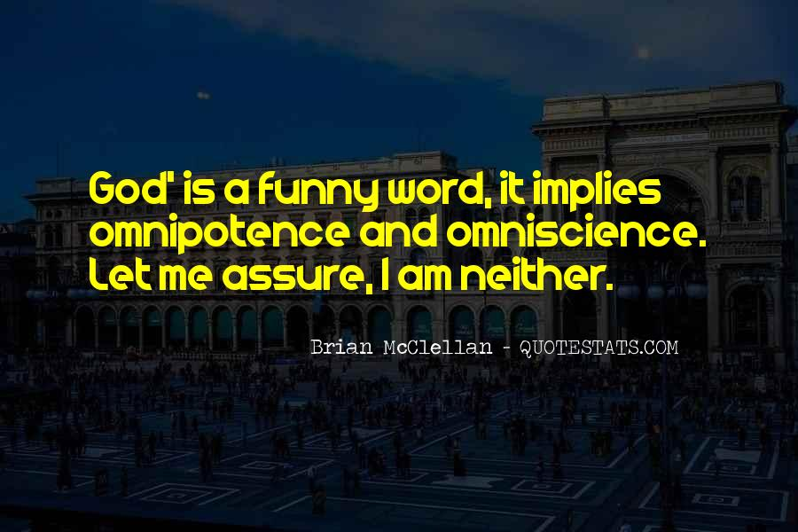 Quotes About God's Omnipotence #1223651