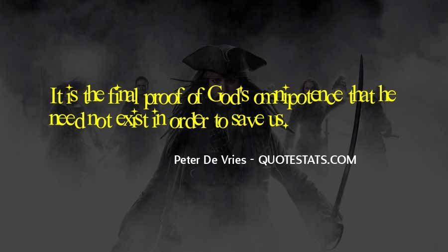Quotes About God's Omnipotence #1275439