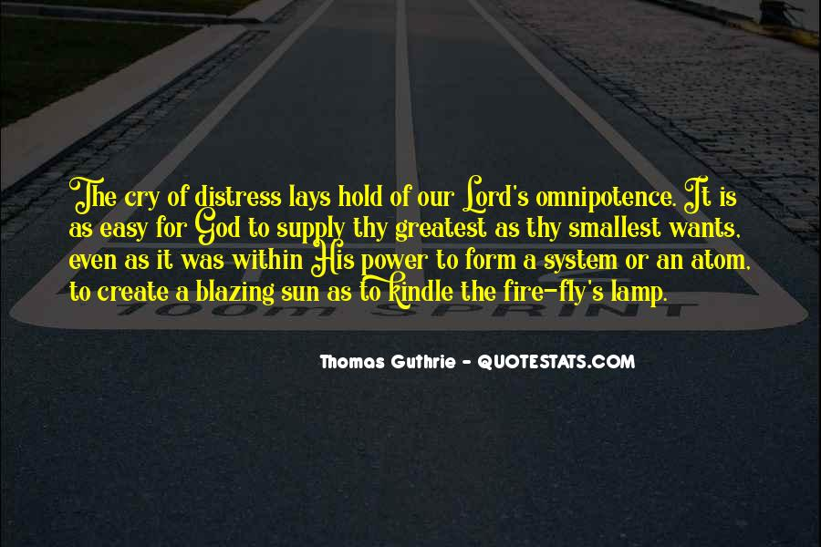 Quotes About God's Omnipotence #1333593
