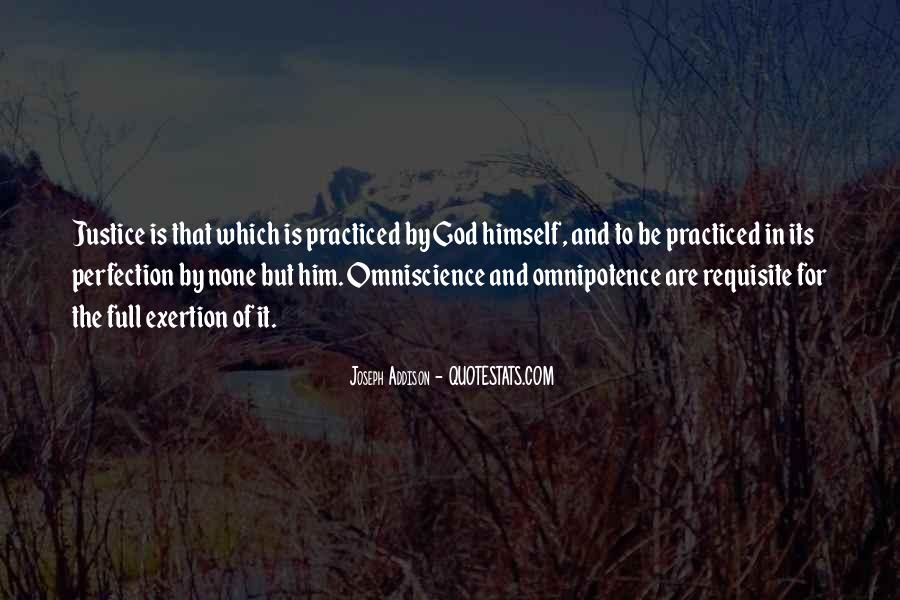Quotes About God's Omnipotence #1659592