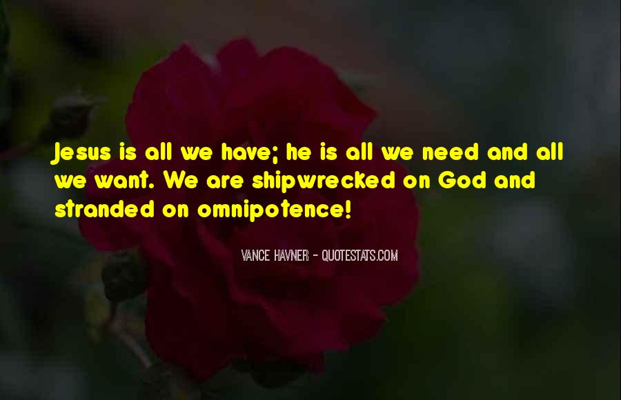 Quotes About God's Omnipotence #1763579