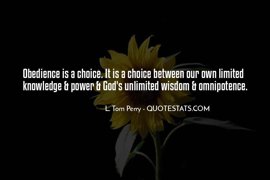 Quotes About God's Omnipotence #253962
