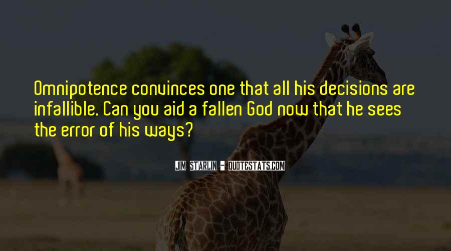 Quotes About God's Omnipotence #313065