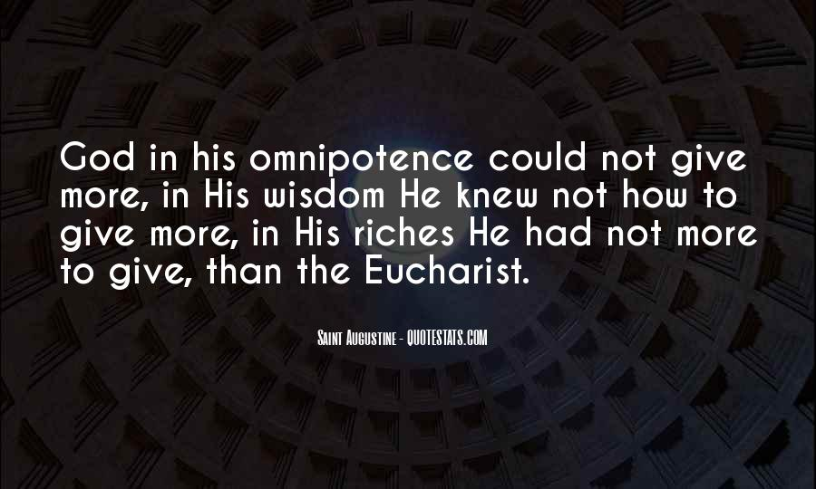 Quotes About God's Omnipotence #710130