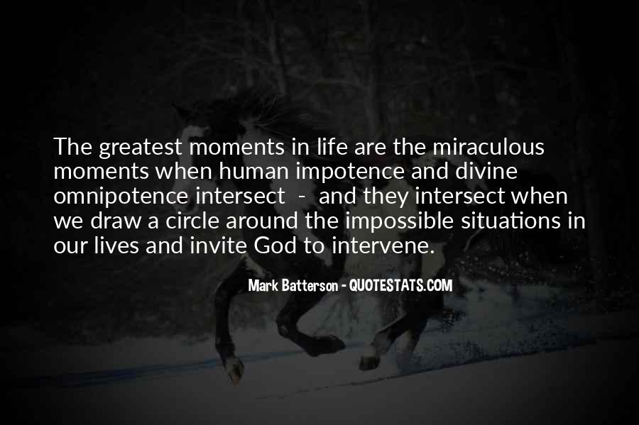 Quotes About God's Omnipotence #858482