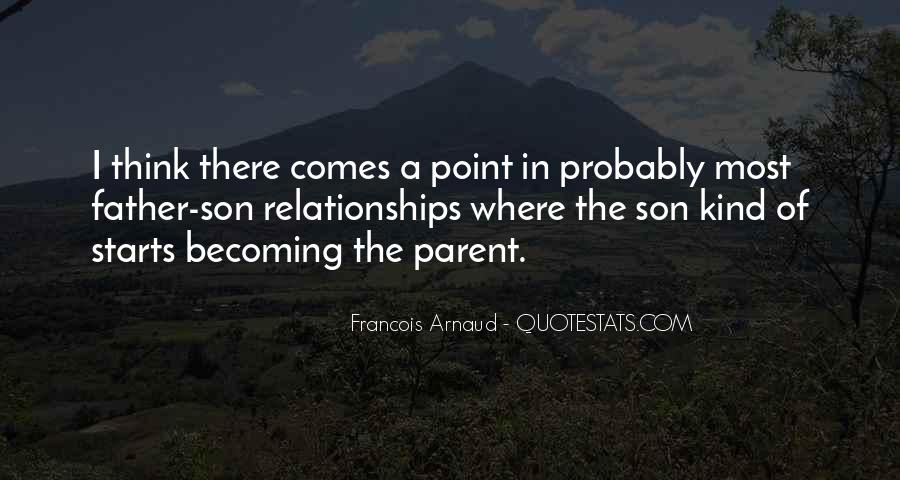 Quotes About A Son Becoming A Father #1053725