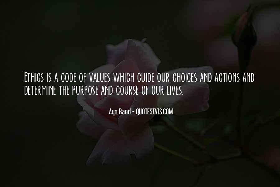 Quotes About Code Of Ethics #1361542