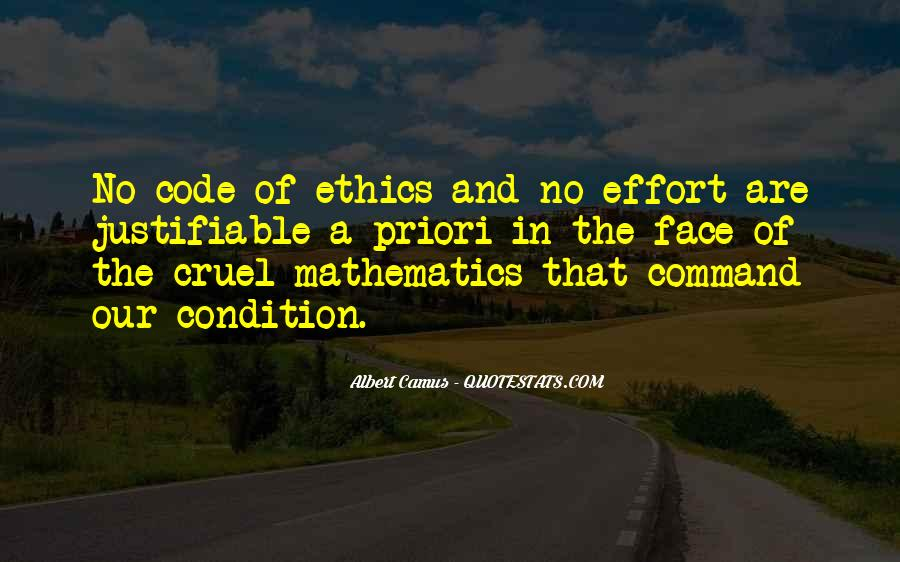 Quotes About Code Of Ethics #1500163