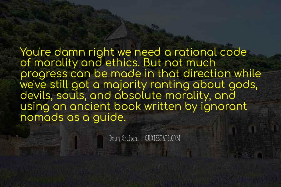 Quotes About Code Of Ethics #154299