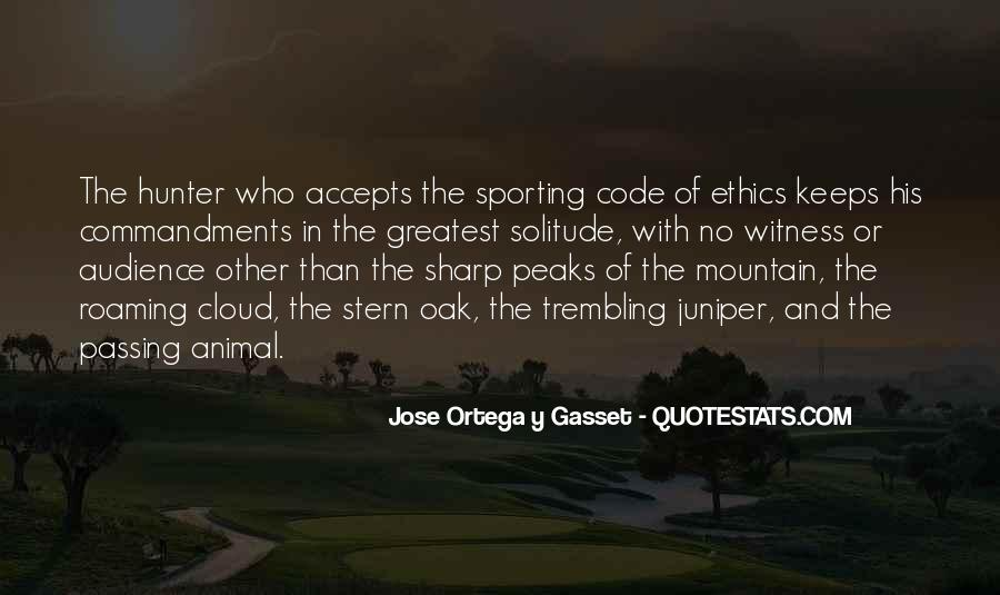 Quotes About Code Of Ethics #1656638