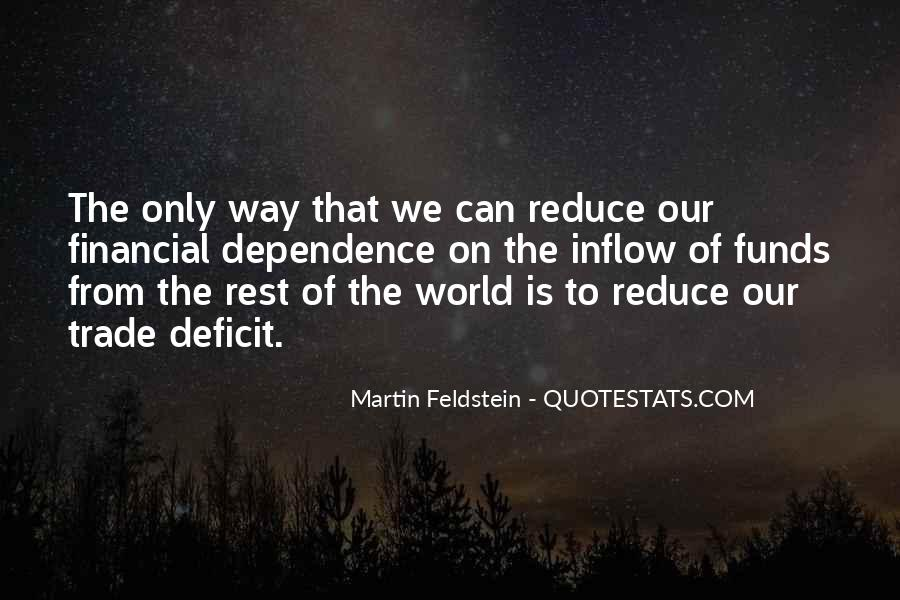 Quotes About Financial Dependence #1124123