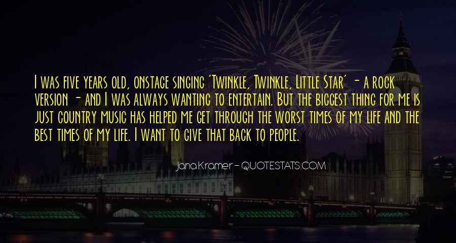 Quotes About Twinkle #472375