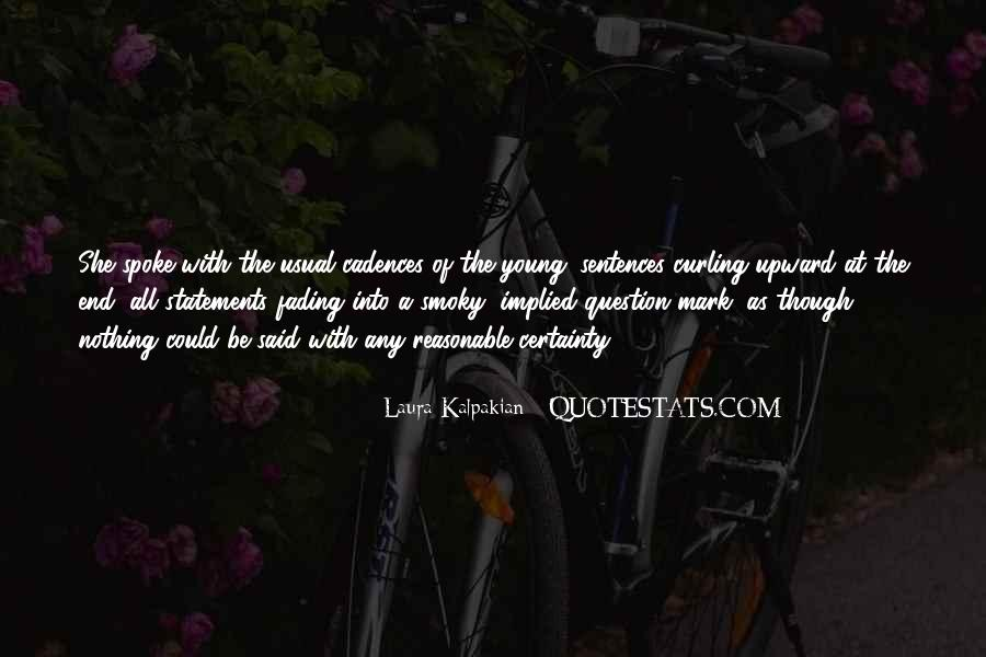 Quotes About Fading #193692