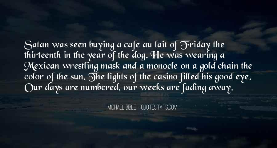 Quotes About Fading #21814