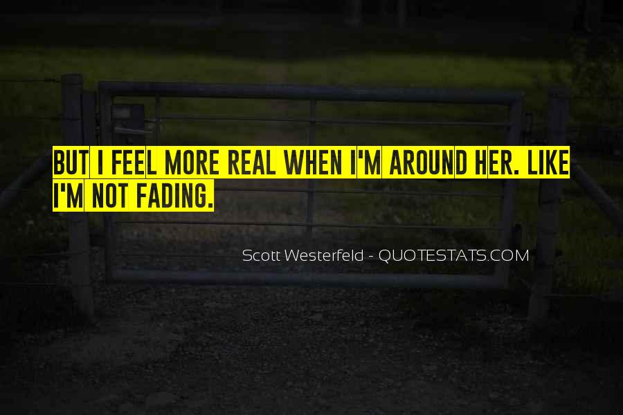 Quotes About Fading #377149